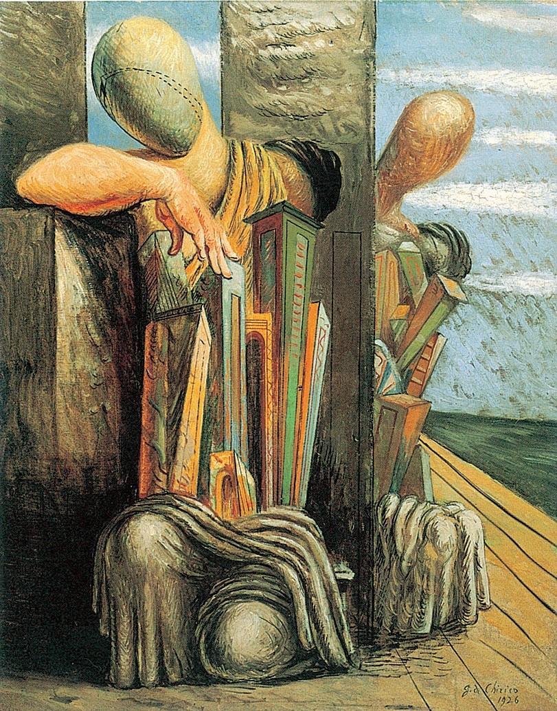 de Chirico, Le trouble du philosophe, 1925-6